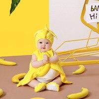 Infant Baby Girl Primo Compleanno Foto Sparare Outfits Abbigliamento Bambino Piccolo Ragazzo Carino Cappello Animale Outfit Fotografia Puntelli Accessori
