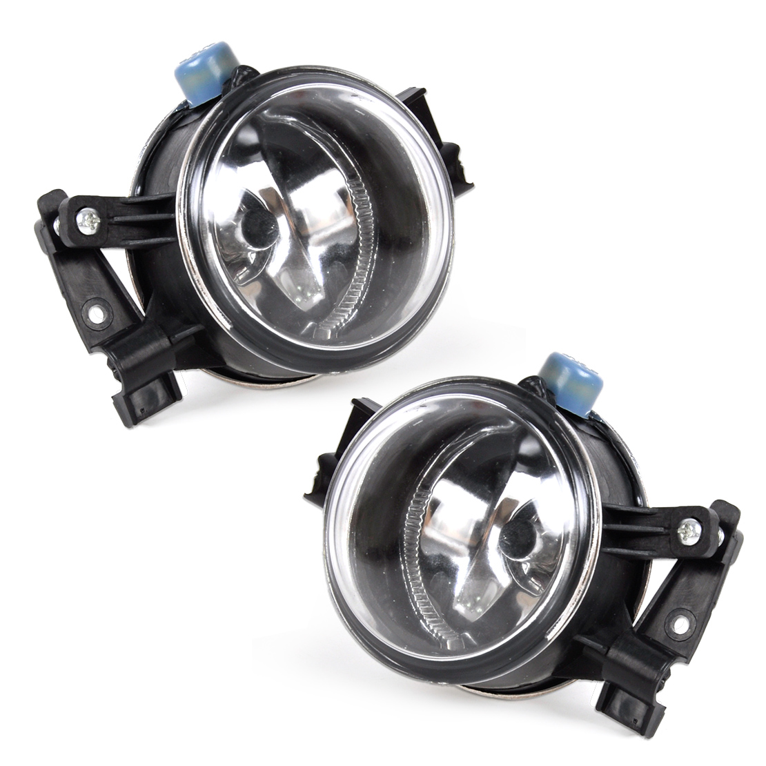 beler 3M51-15K201-AA 3M51-15K202-AA 1 Pair Right Left Fog Lights Lamp 12V 55W for Ford Focus 2005 2006 2007