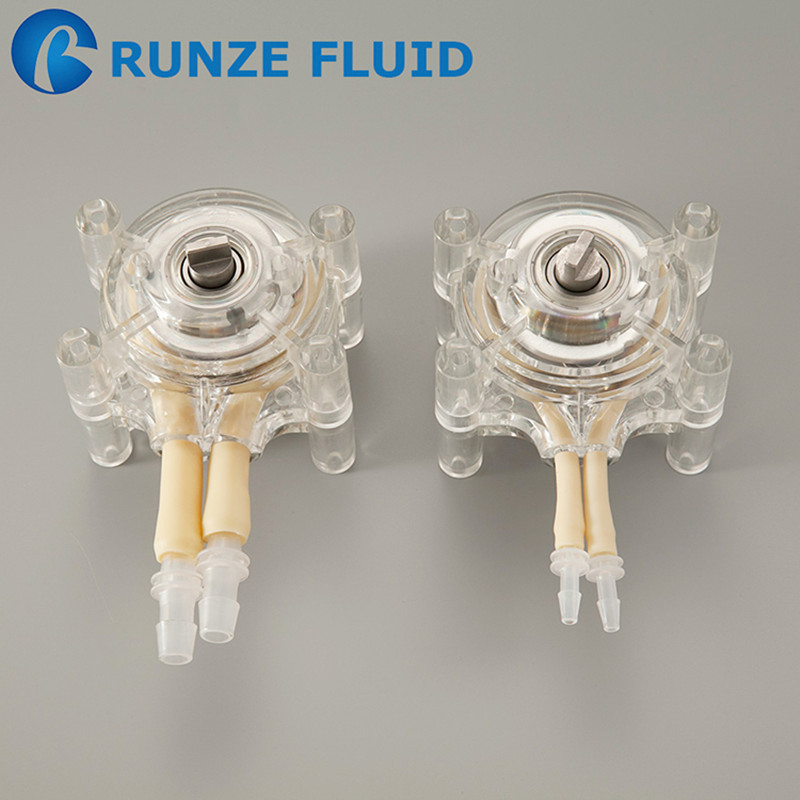 1 16 Wall Flexible Tubing Peristaltic Pump Head Easy Installation Low Pressure