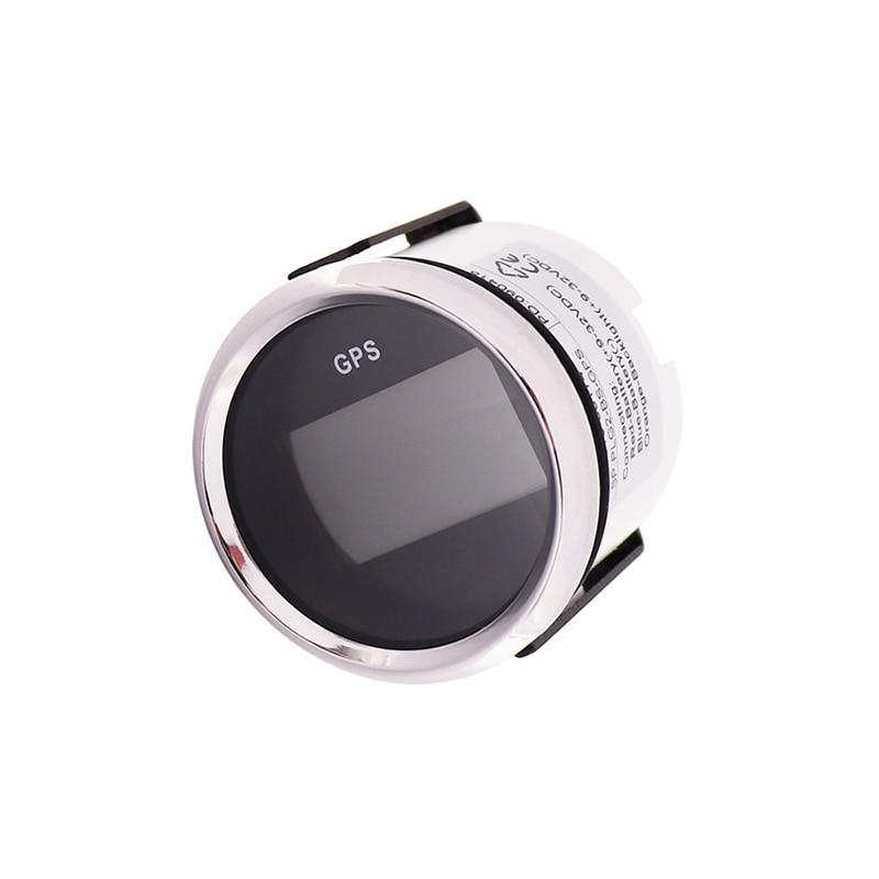 52mm Universal LCD Digital GPS Speedometer Odometer For Car Motorcycle With Backlight GPS Speed Sensor 9