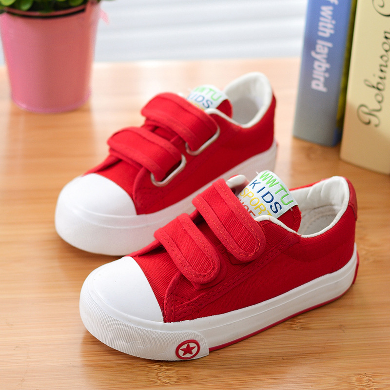 2016-Autumn-Children-Solid-Color-Casual-Canvas-Shoes-Boys-Girls-Shoes-Fashion-Sneakers-Outdoor-Sports-Shoes-For-Kids-Size18-37-3
