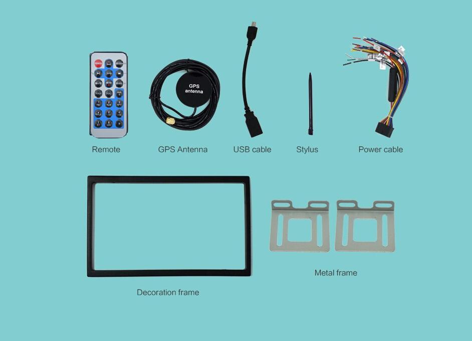 2din Bluetooth USB/SD radio 3