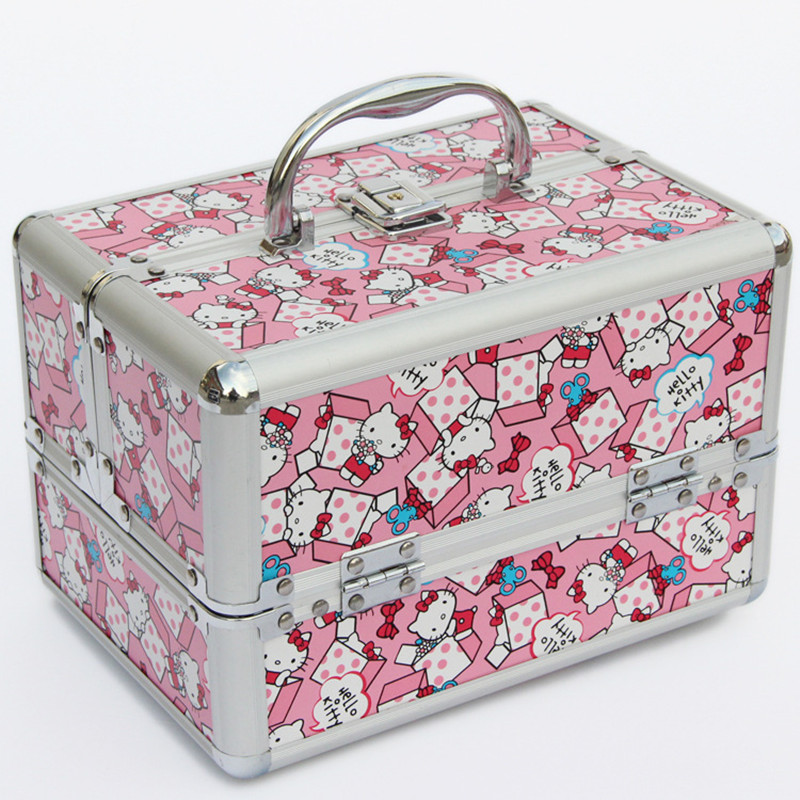 Caja de cosméticos portátil bolsas de viaje estuche extensible para tren de maquillaje soporte para brochas de maquillaje organizador de maquillaje bolso para maletín de belleza