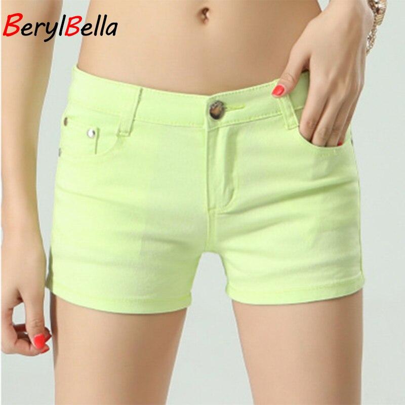 BerylBella Women Shorts Mujer Summer