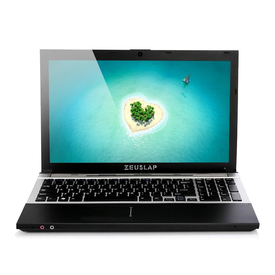 ZUESLAP 15.6 pouces Intel Core i7 CPU 4 GB RAM + 240 GB SSD + 1 to HDD WIFI Bluetooth dvd-rom Windows 7/10 ordinateur portable ordinateur portable