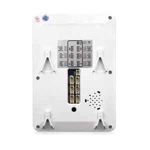 Image 3 - Homefong 4 pouces filaire vidéo porte téléphone sonnette interphone système vidéo caméra noir/blanc enregistrement étanche à la pluie