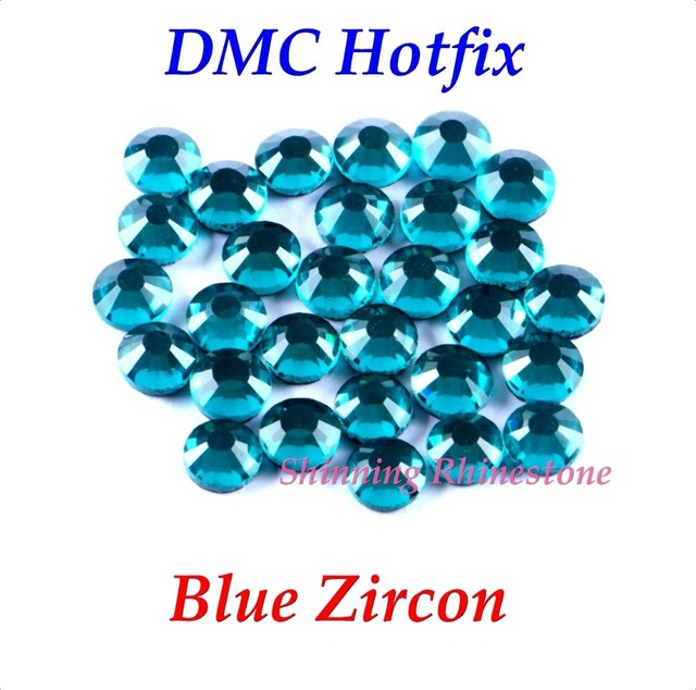0e9e16e5da US $1.08 |DMC Blue Zircon SS6 SS10 SS16 SS20 SS30 Mixed Size Glass Crystals  Hotfix Rhinestone Iron on Rhinestones Shiny DIY With Glue-in Rhinestones ...