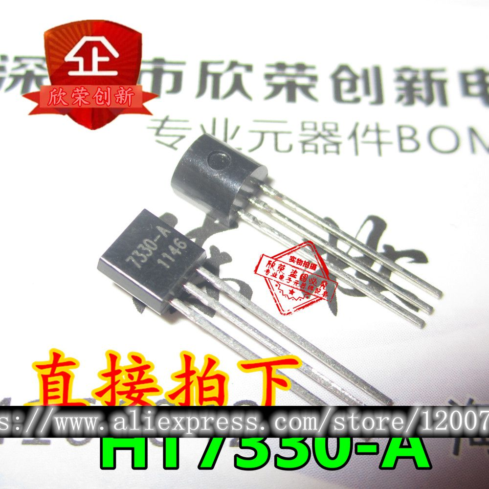 10pcs/lot HT7330A-1 Three-terminal Voltage Regulator Tube TO-92 7330A-1 HT7330