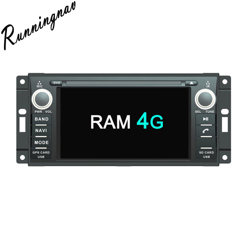 Android 8 0 Octa Core RAM 4G Android Fit JEEP COMMANDER WRANGLER font b Car b