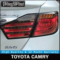 Автомобильный Стайлинг для Toyota Camry 2012 2013 2014 12 В Автомобильный светодиодный задний фонарь DRL задний фонарь прокатный поворотный сигнал авто з
