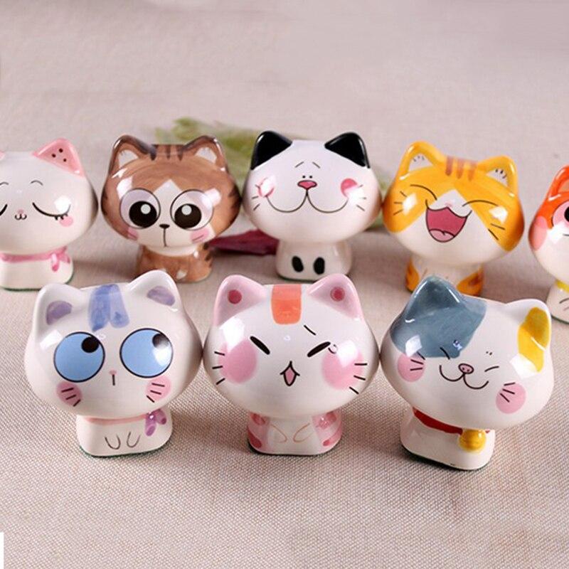 Online kopen Wholesale keramische kat beeldjes uit China ...