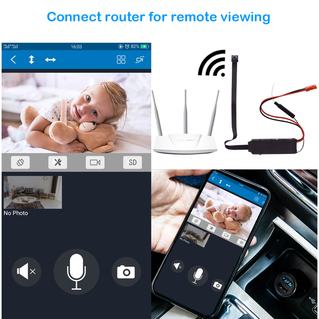 Mini Wifi Camera Remote Control 1080P Full HD Wireless P2P Video Audio Recorder  wi fi Camera  Mini Cam DV Camcorder IP Camera 3
