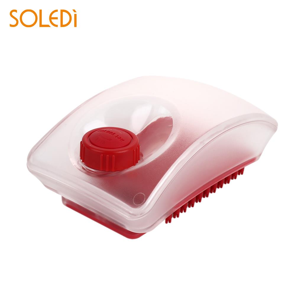 Novelty Shampoo Cleaning Brush Pet Washing Brush Comb Shampoo Pet Red 2 in 1 Bubble Pet  ...