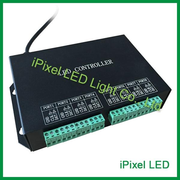 Piksel işıqları üçün H801RC LED Onlayn / Offline qul nəzarətçisi