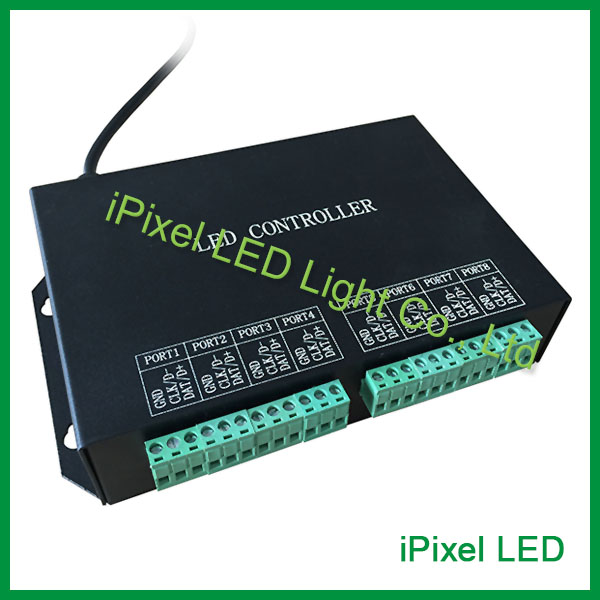 H801RC LED Online / Offline Slave Controller pro pixelová světla