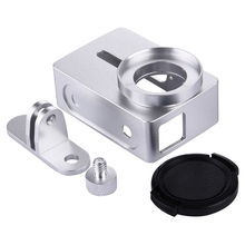PULUZ For Xiaomi Yi 2 Metal Frame Protective Case with 37mm UV Filter For Xiaoyi 2 4K Action Sport Camera CNC Aluminum Cover