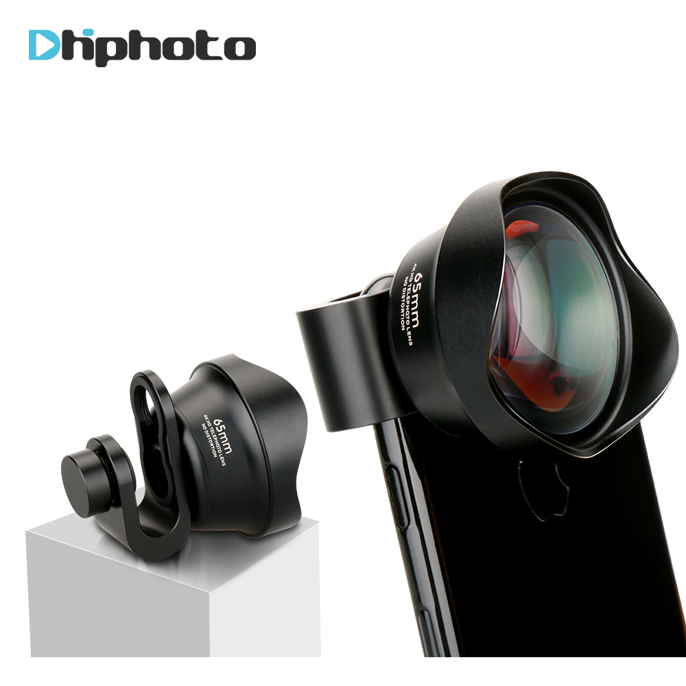 Pholes Handy 2X Teleobjektiv 4 karat HD Tele Porträt Objektiv Kamera Linsen Clip-Auf Objektiv für iPhone 8 7 X Plus Samsung S8 S9