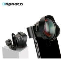 Ulanzi Mobiele Telefoon Optische 65mm 4 K HD 2X Telelens geen Vervorming Camera Lenzen met Universele Lens Clip voor iPhone Samsung