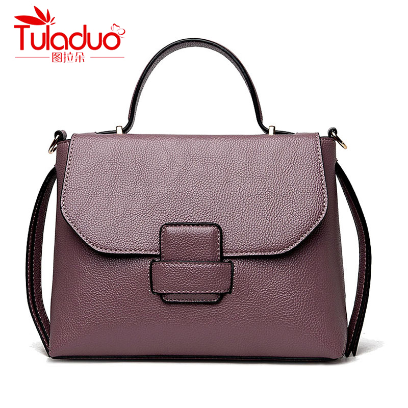 TULADUO European luxury Handbags Women Bags Designer High Quality PU Leather Shoulder Bag Ladies Messenger Handbag Tote Bag цена
