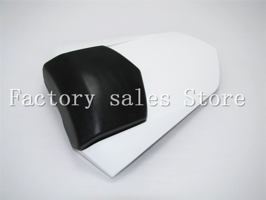For Yamaha YZF1000 YZF 1000 R1 2007 2008 07 08  White Rear Seat Cover Cowl Solo Racer Scooter Seat Motorcycle Motorbike YZFR1