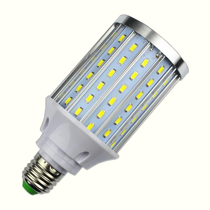 NEW Aluminum Body Cooling 25W LED Corn Bulb E27 85V-265V Constant Current No Flicker 108LEDs lamp light For Indoor lighting
