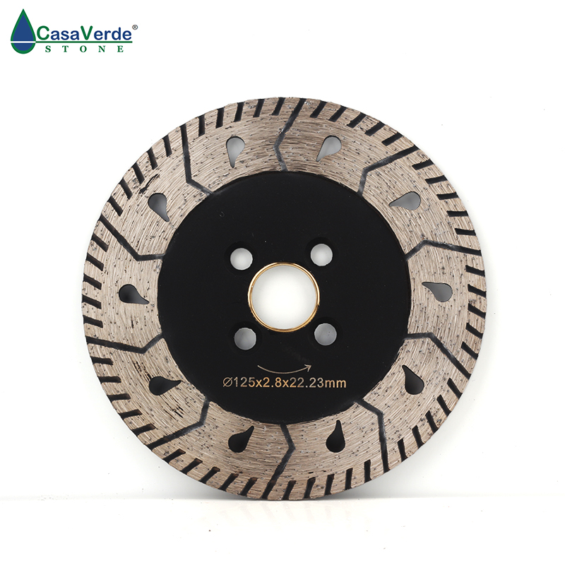 Free shipping DC-M5 5 inch cutting wheels 125mm diamond circular grinding disc for granite stone