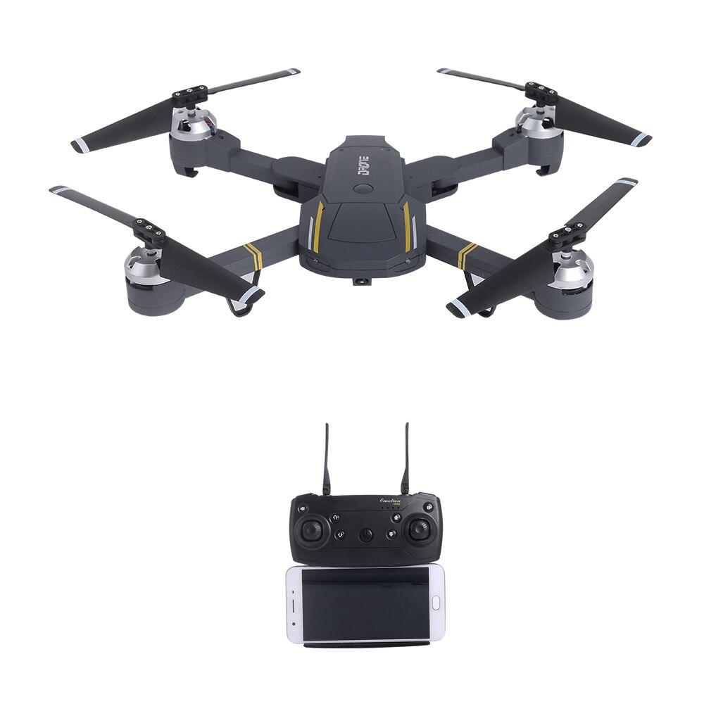 Drone pliable 720 P RC avec caméra HD vidéo en direct quadricoptère Wifi FPV Selfie Dron VS SG900 XS809HW SG700 E58