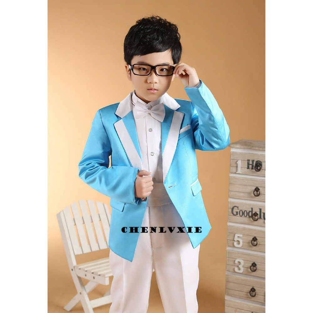 CHENLVXIE (2 14Y) Wedding Suit Boys Formal Suits Kids for Boys Child ...