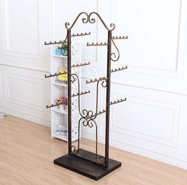 Iron Lingerie Underwear Baby Clothes Rack Stand Display In Coat