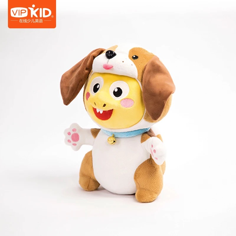 5d48702a2f3 VIPKID Stuffed Dino With Dog Hat Authentic Dino Dog VIPKID Dino Baby  Dinosaur Doll Plush Doll Child Gift 8 Inches 1pcs 3pcs-in Stuffed   Plush  Animals from ...