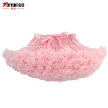 TONGMAO Baby Girls Tutu Skirt Fluffy Children Ballet Kids Pettiskirt Baby Girl Skirts Princess Tulle Party Dance Skirts For Girl