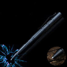1PCS GENKKY Metal Ballpoint Pen Tactical pens tungsten steel unisex metal multifunctional ballpoint window tool pen