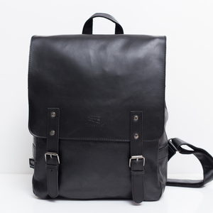 Image 3 - 2020 Hot! Men and women fashion PU leather backpack school bag popular style orange bags and shoulder school backpacks for women
