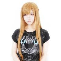 Sword Art Online Yuuki Asuna Cosplay wig Yuki Asuna Role Play braid styled Hair +Wig Cap