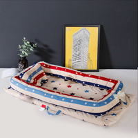 Baby Cribs Portable Children Bed Baby Travel Beds Nest For Newborns Children's Cotton Cradle Infant Carry Cot Kids Travel Bed