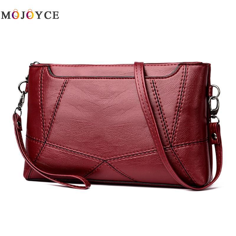 Casual Women Messenger Bag Female PU Leather Shoulder Crossbody Bag Office Ladies Designer Handbag Bolsa Feminina 4