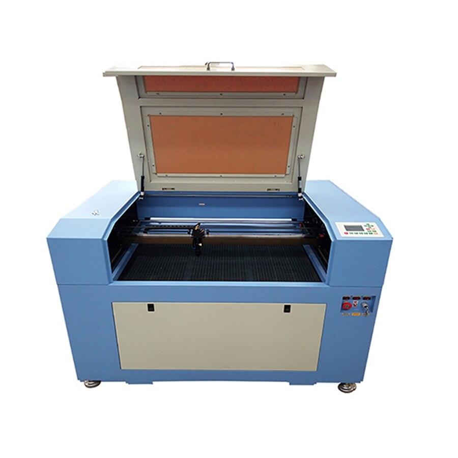 JIN ZHI YIN 80W CNC Ruida Laser Engraving Cutting Machine With Windows XP/win7/ Win8/win10 System Free Shipping