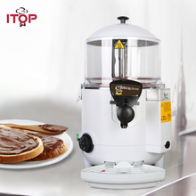 ITOP White Black 10L chocolate topping machine make hot beverage dispenser