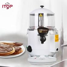 ITOP White Black 10L chocolate topping machine make hot chocolate beverage dispenser