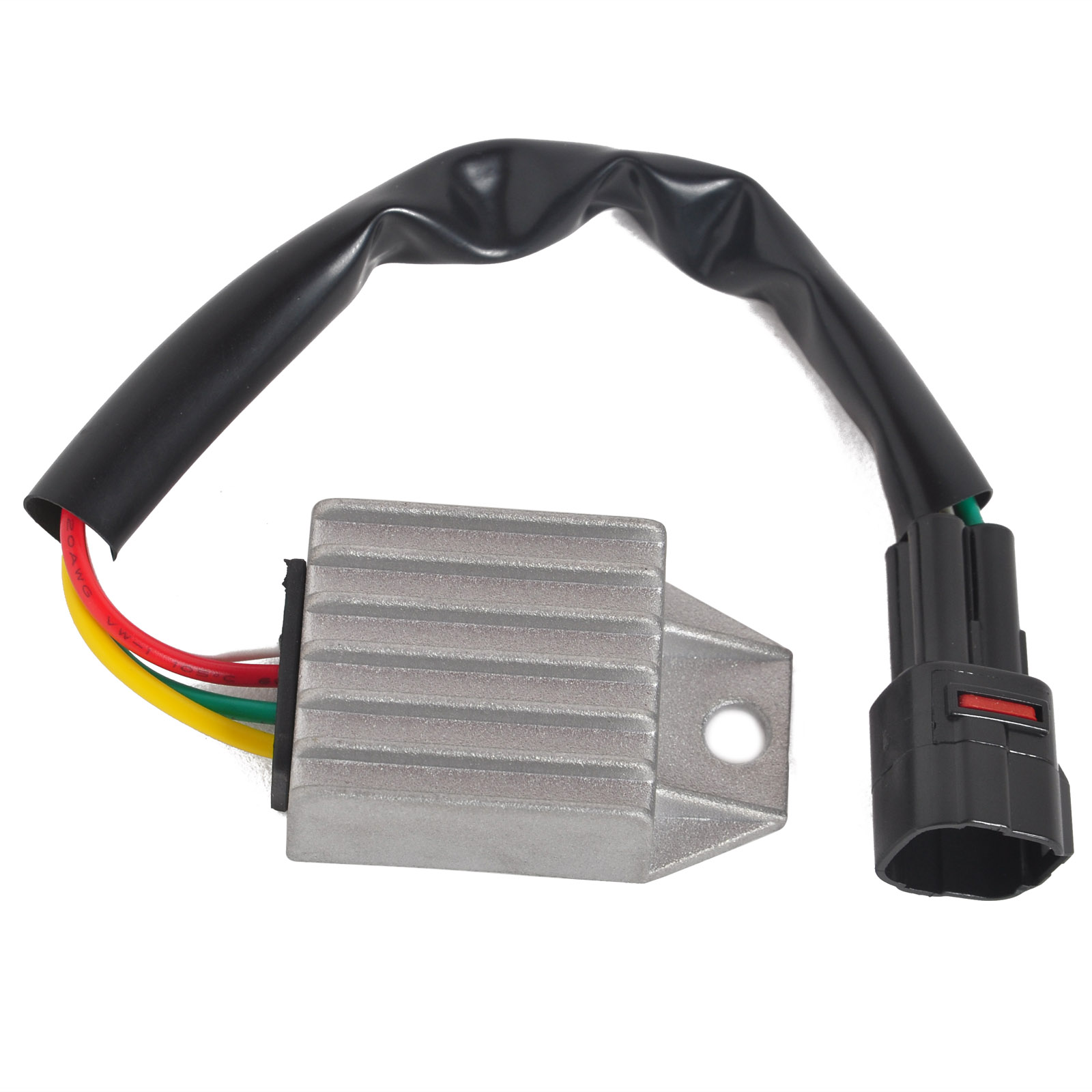 Mayitr Motorcycle Aluminum Voltage Regulator Rectifier for KTM 660 SMC 2004-2005 450 EXC-R 250 XCF-W EXC-F 530 XC-W 525 EXC motorcycle front and rear brake pads for ktm xc exc 200 2004 2008 xc exc 250 400 450 2004 2007 sintered brake disc pad