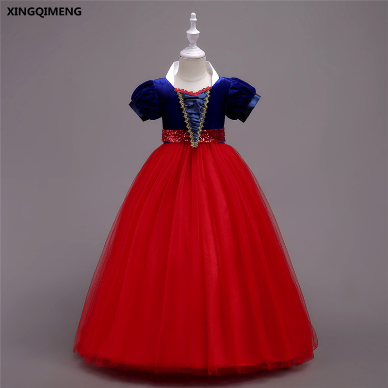 In Stock Red Tulle Bow Gown Lovely Flower Girl Dresses 4-16Y Chic ...