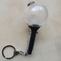 Kpop Home Bangtan Boys BTS Mini Bomb Light Key Chain Ami Stick ARMY YGB099