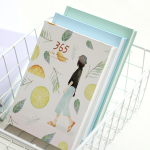 Image 1 - 365 ימים אישי יומן מתכנן כריכה קשה מחברת יומן 2021 משרד לוח זמנים שבועיים חמוד קוריאני מכתבים libretas y cuadernos