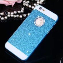 Wonderful Colors Bling Hard Plastic Back Cover Phone Case For iphone 5 5s