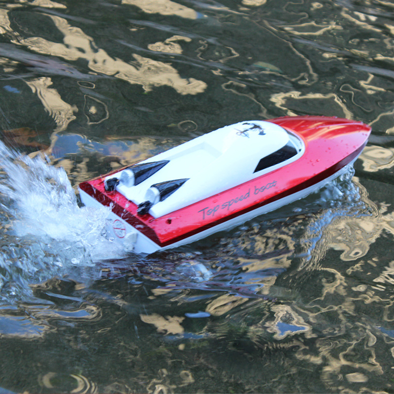 New RC Boat Electric Boat 801 4CH 2.4G 25-30km/h high speed rc racing boat Toy Speed Boat A Grade Material outdoor toy for gifts boat