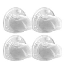 4 Pack Replacement Black & Decker Dustbuster VF110 Filter, Part Compatible with Black & Decker CHV1410L, CHV1510, CHV9610, CHV12
