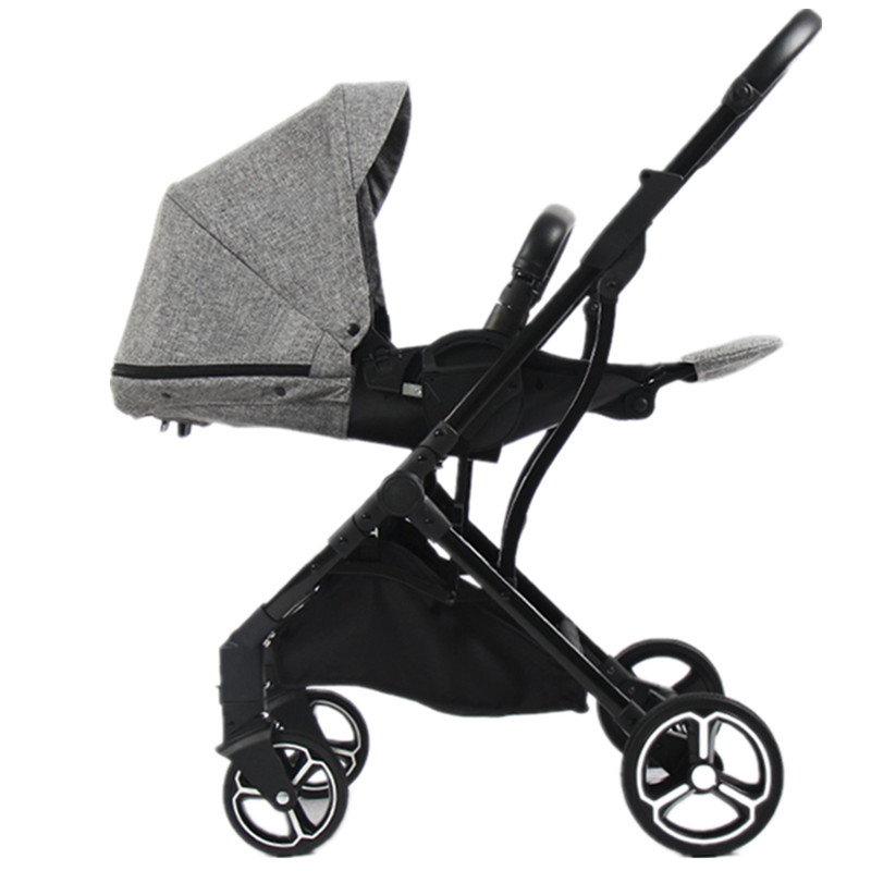 Luxury Baby Stroller 2 in 1 High Land-Scape Folding Pram Portable Baby Carriages For Newborns carrinho de bebe baby stroller infant comfortable baby throne strollers baby carriages for newborns folding portable stroller