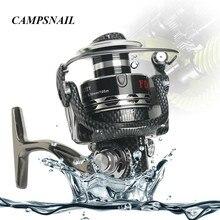 Fishing Tackle DT4000-7000 Series Fishing Reel 12+1 BB Ball Bearing 5.2:1 Gear Ratio Aluminum Pre-Loading Spinning Fishing Wheel
