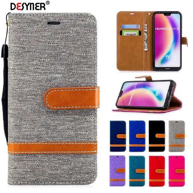 Desyner чехол для Huawei P20/P20 Lite кожаный флип бумажник чехол для Huawei P20 P 20 Lite Pro Nova 3E чехол с рисунком телефон случаях