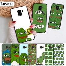 Lavaza the Frog meme pepe Colorful Cute Silicone Case for Samsung A3 A5 A6 Plus A7 A8 A9 A10 A30 A40 A50 A70 J6 A10S A30S A50S